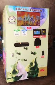 Popsicle Vending Machine Adorable China Best Seller Automatic Soft Ice Cream Vending Machine Ice Cream
