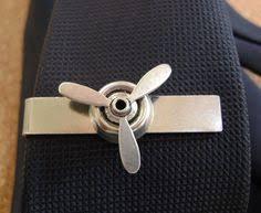 airplane propeller tie clip aviation tie bar perfect keepsake for pilots husbands groom groomsmen or anniversary