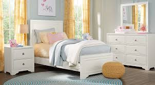 Belcourt Jr White 5 Pc Twin Panel Bedroom Clearance White
