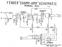 fender champ 5e1 wiring diagram my fender champ vintage amps