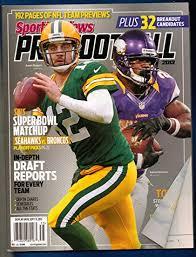 Adrian Peterson Depth Chart Amazon Com Sporting News Pro Football Magazine 2013 Aaron