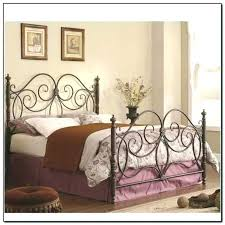 King Size Frame With Head And Footboard Headboard Attachments Metal ...