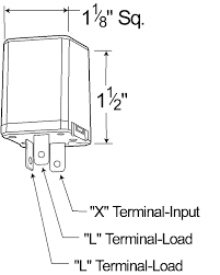 44730 3 pin flasher, 6 light heavy duty alternating electronic LED Flasher Wiring-Diagram at Grote Wiring Schematics