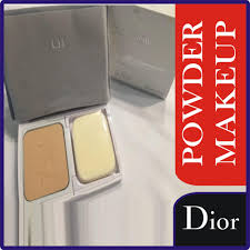 diorsnow pure whitening protective powder makeup spf 25 pa oil free skin color 10g