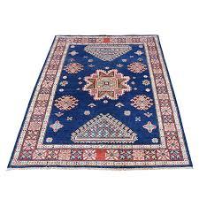 3 3 x5 navy blue special kazak hand knotted oriental rug