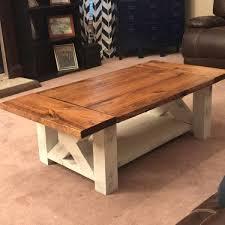 fabulous farmhouse coffee table and diy chunky farmhouse coffee table diy woodworking plans handmade