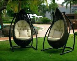 outdoor swing chair wonderful seat furniture sectional patio garden egg outdoor swing chair