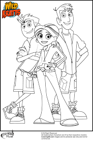 Small Picture Inspirational Wild Kratts Coloring Pages 75 In Picture Coloring