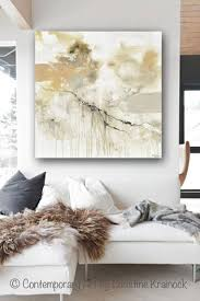 giclee print art abstract grey white painting coastal modern neutral beige taupe gold home decor wall art canvas on home decor wall art painting with giclee print art white grey abstract painting modern neutral wall