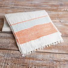 fair trade striped ethiopian beach blanket  shop nectar