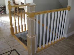 replace stair railing. Exellent Replace Replace Stair Banister Spindles And Newel Post DIY  TDA Decorating  Design Featured On  Inside Replace Stair Railing N