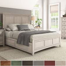 Ediline Queen Size Wood Panel Bed by iNSPIRE Q Classic - Free Shipping  Today - Overstock.com - 22328175