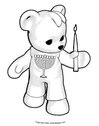chanukah story coloring pages coloring