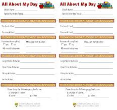 age daily report toddler card template for resume cover letter child care toddler day care report