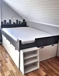 Ikea Storage Bench Cushion Stuva Gray Black 7446 Soapp Culture
