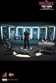 tony stark office. HOT TOYS Iron Man 3 Tony Stark Suit Testing Version MMs191 Review - YouTube Office