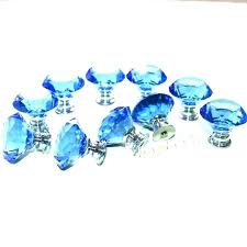 blue drawer pulls blue glass cabinet knobs drawer pulls arctic melon hardware blue glass drawer pulls