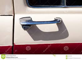 vintage car door handle. Chromed Classic Car Door Handle Vintage