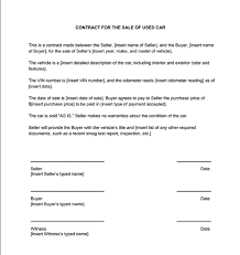 Sale Agreement Form For Car Ibovjonathandedecker Delectable Auto Purchase Agreement Template