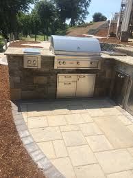 Outdoor Kitchen Refrigerator Built In Outdoor Kitchens In Connecticut