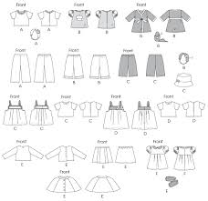 Doll Clothes Patterns Impressive McCall's 48 48 48cm Doll Clothes