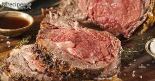 delicious smoked prime rib roast with