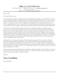 Tutor Cover Letter Writing A Teaching Cover Letter Template For Position