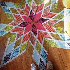 Star Pattern Quilt Impressive Lone Star Bed Quilt