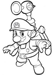 Free Printable Mario Coloring Pages For Kids ぬりえ マリオ