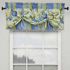 fl flourish tie up valance light almond 52 x 21
