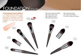 here is all 75 make up for ever artisan brushes