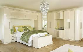 modern fitted bedroom furniture. Wardrobes Glass Sliding Doors Cream Gloss Bedroom With Curves Modern Fitted Furniture