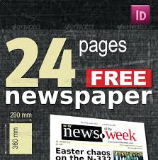Newspaper Template For Photoshop Best Print Newspaper Templates In Adobe Tabloid Template Old