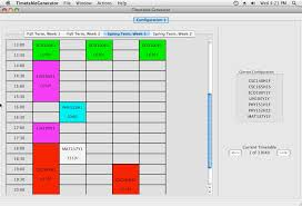 Schedule Table Maker Time Table Creator Magdalene Project Org