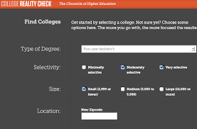 How To Compare Colleges Find And Compare Colleges Easily Using College Reality Check