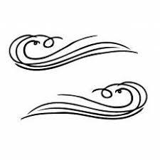 波フレームシルエット イラストの無料ダウンロードサイトシルエットac