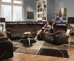 Sectional Living Room Set Simmons 53100br Manhattan Beautyrest Motion Sectional Living Room