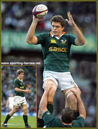 Juan SMITH - South African Caps 2003-2007 - South Africa