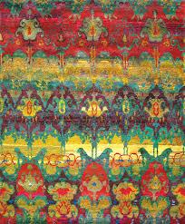 rugsville ethos sari silk multi 13852 rug 13852