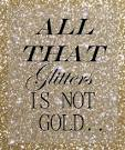 short essay on all that glitters is not gold