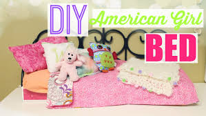 DIY American Girl Doll Bed