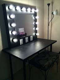 vanity with lights around mirror. desk: vanity table lights around mirror top 25 best makeup desk with ideas on t