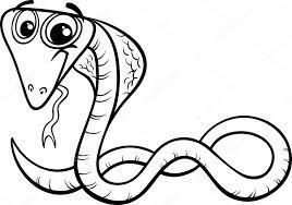 Immagini Cobra Da Colorare Pagina Da Colorare Di Cartoni Animati