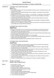 Grace Hopper Resume Database University Relations Resume Samples Velvet Jobs 20