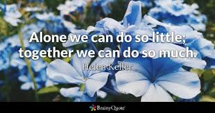 Image result for united we win quote with pictures
