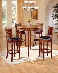 pub sets furniture creative of round bistro table set round pub table and chairs with 5