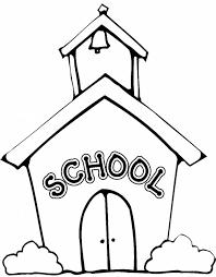 Stampa Disegno Di La Scuola Da Colorare