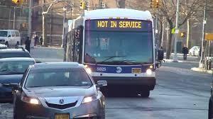 Mta Nyct Bus 2012 Nova Lfsa Artic Not In Service Bus 5825 At