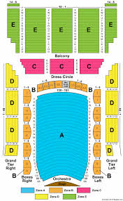 Lyric Opera Seating Chart Lyric Opera House Md Seating Chart