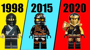 ALL LEGO NINJAGO Cole EVOLUTION - YouTube